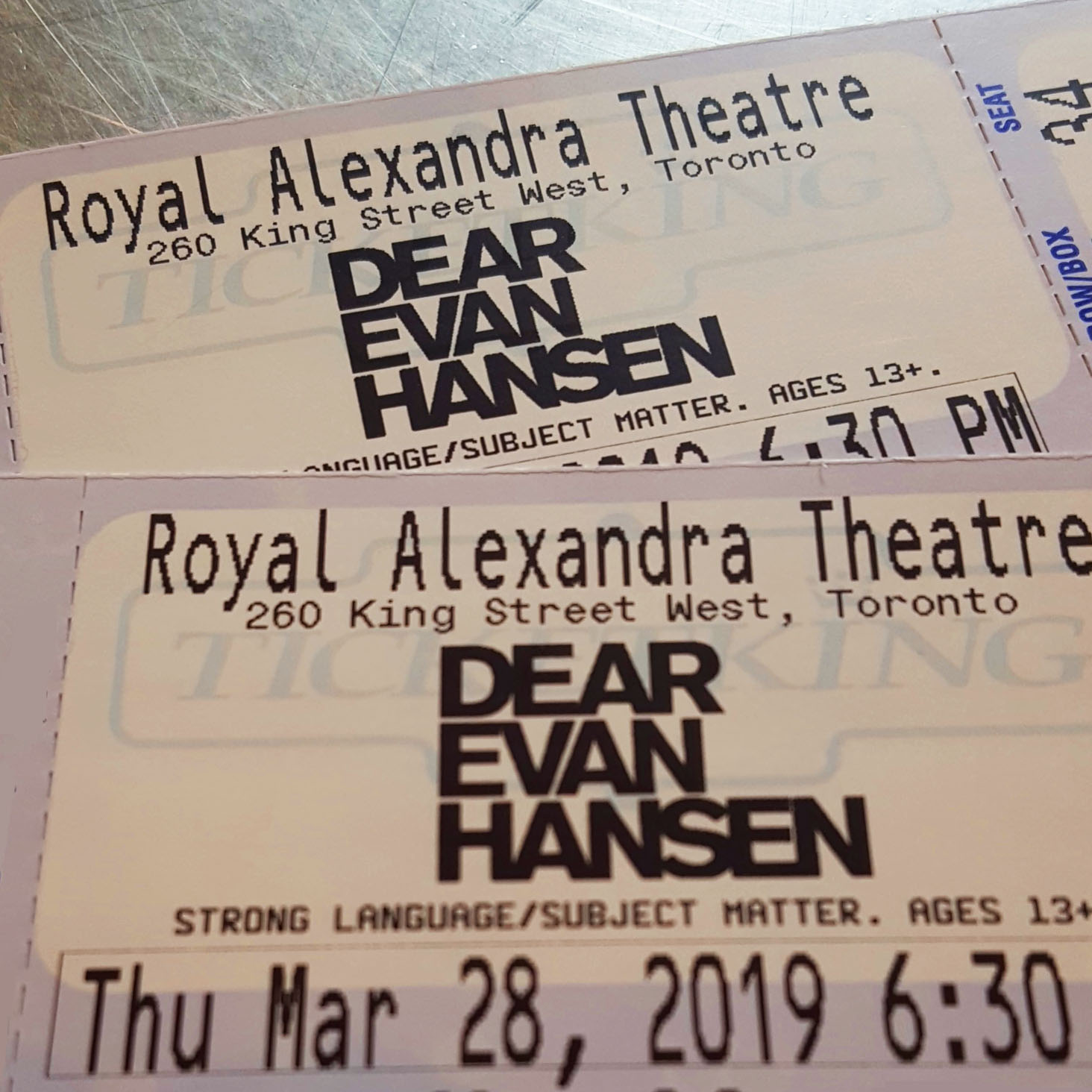 dear evan hansen tickets, reviews