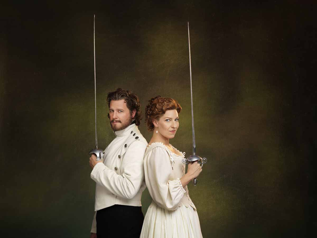 Much Ado About Nothing, Stratford festival 2020, Graham Abbey, Maev Beaty,
